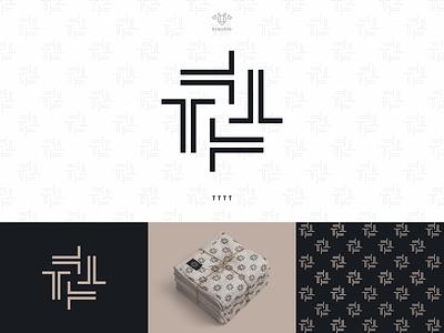 T - Logo Design strong pattern cool line modern minimalist monogram logo simple fashion design t initial fashion