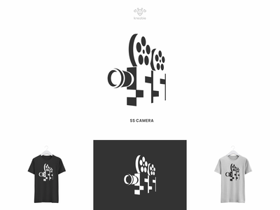 SS Camera - Logo Design strong cool modern minimalist monogram logo simple photography camera ss s