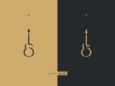 LG Guitar guitarmusiclglogosimple