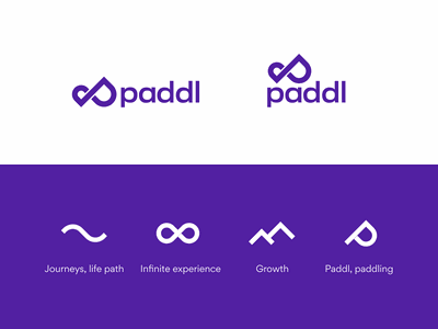 Paddl Mark Elements concepts concept mark logo paddl