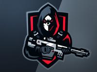 Mask Mascot Logo