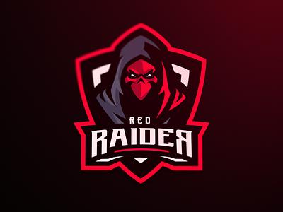 Red Raider skull logotype sports logo sport logo vector mascot design sports gaming esports athayadzn sportlogo mascot logo mascotlogo branding logo illustration