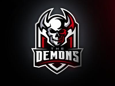 Skull gaminglogo skull logo skull esports sports logo mascot logo illustration gaming athayadzn logo vector design branding