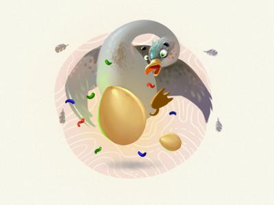 Earn golden eggs!