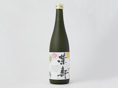 Eiju sake packaging logo liquor japan graphic drink doburoku branding