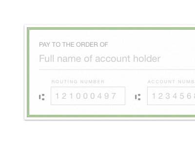 Pay to the order of... check gumroad