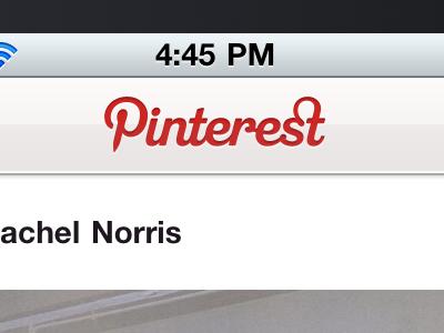 New Pinterest iPhone app - coming soon. pinterest iphone