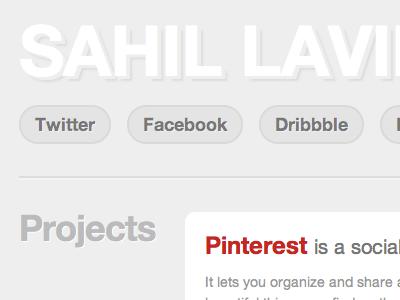Sahil Lavi... personal portfolio