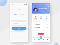 Login & User Profile - Doctor App