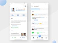 Doctor Profile & Notifications - Doctor App