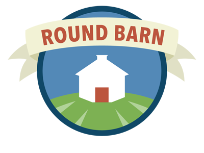 Round Barn Farm sticker
