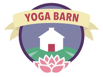 Yoga Barn sticker