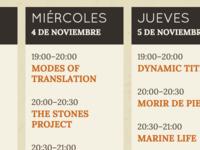 Multiingual Responsive Event Calendar
