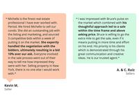 Colourful Testimonials