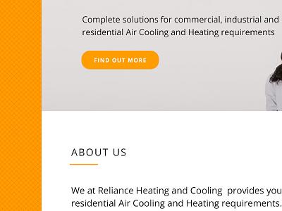 Aircon Site websites design orange