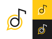 Logo Design Concept for Music Social Network by Ilarion Ananiev