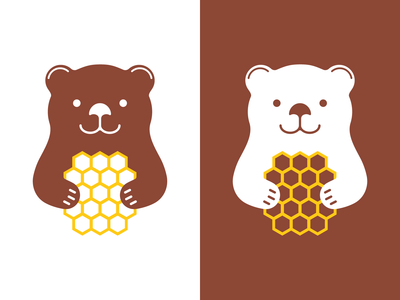 Happy Bear Logo Design Concept by Ilarion Ananiev