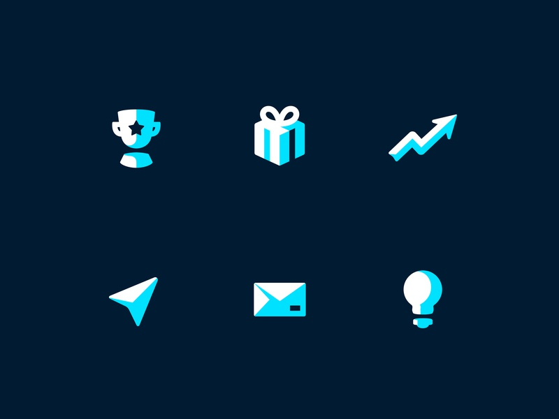 Paystack Navigation Icons branding vector paystack minimalist simple ux iconography ui illustration icon