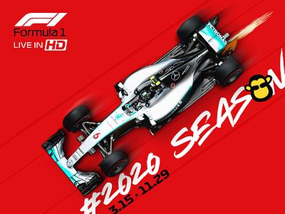 F1 Promo branding graphic design promo design