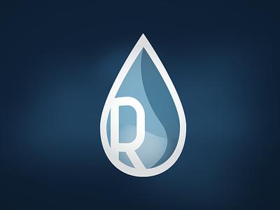 Water Filtration Company Logo illustration branding logo design