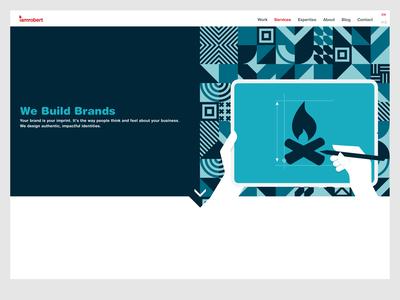 iamrobert redesign - Services Branding Page