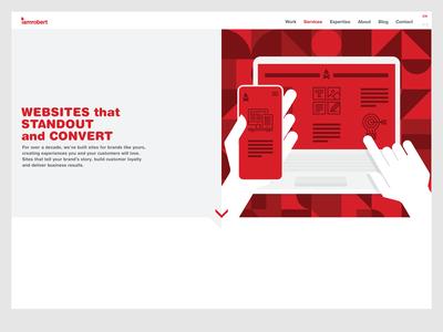 Services - web design - iamrobert
