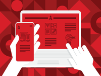 Responsive Web Design (RWD) Illustration