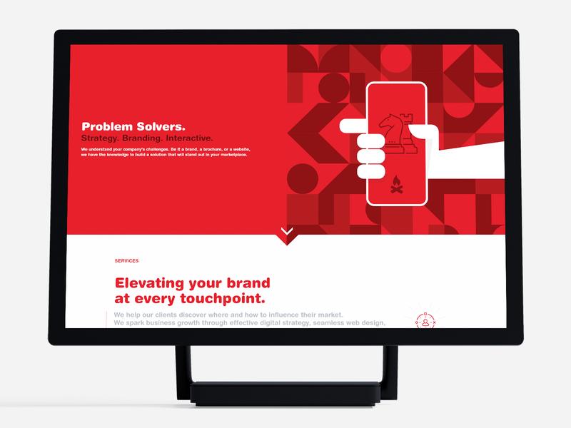 Design Services Landing Page | iamrobert website ux ui services agency website web design