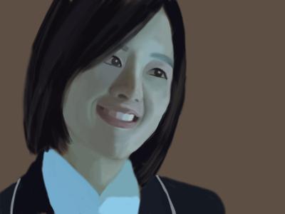 secret illustration girl character