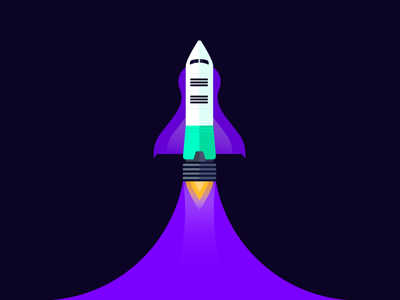 Blast off! illustration internal yld space lift off launchpad launch blast off discovery rocket