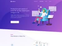Customers homepage