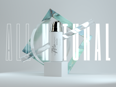 PL - Cosmetic Promo 3d animation 3d art type cosmetic product otoy octane cinema4d c4d render 3d