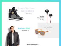 Design Practice - Web Magazine