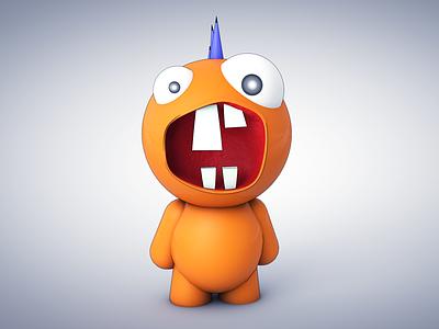 Monster Character monster c4d sketch toon 3d render character cinema 4d