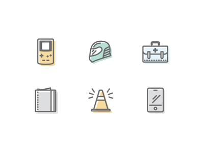 More Compare icons