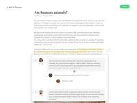 Online dialog