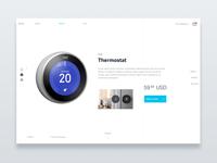 Smart Ecommerce nest smart ecommerce concept ui sketch
