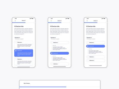 Input Form Mobile form design reponsive concept ui sketch