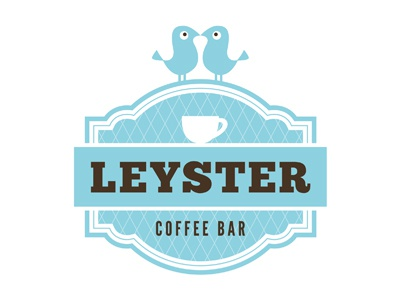 Logo Leyster Coffee Bar logo coffee bar haarlem the netherlands