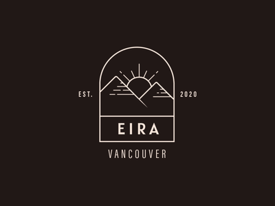 Eira Logo Concept adobe illustrator line illustration logo design branding brand identity digital design brand design