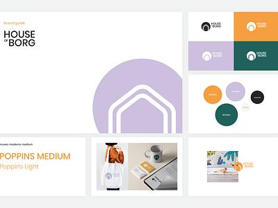 House of Borg Branding brand guidelines logo design branding brand identity brand design
