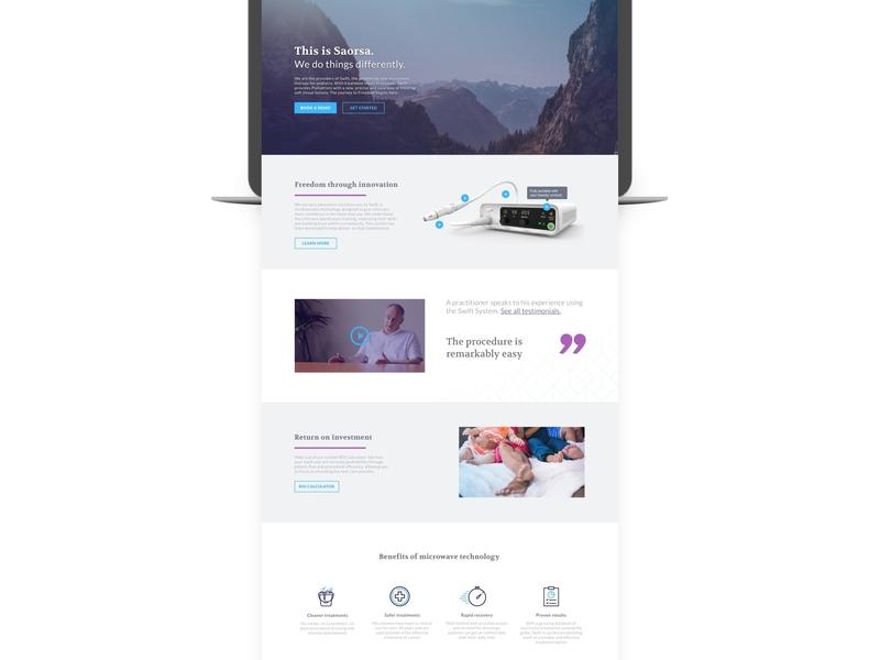 saorsa Web Design sketch app digital design web design
