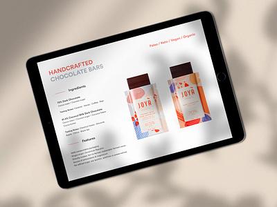 Joyà Electronic Press Kit organic adobe illustrator digital design