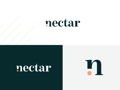 Nectar Logo Concept brand design brand identity logotype logo design logo