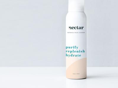 Nectar Skincare Packaging beauty branding beauty brand branding skincare packaging packaging design