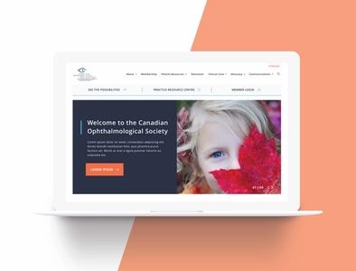 COS Website Redesign (for Machine Agency) ui digital design web mockup visual design ui design wordpress web designer web design