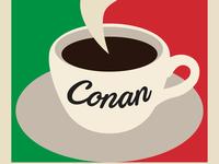 Conan Italy Logo