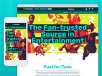 Fandom Company Website