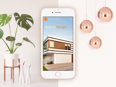 Proto Homes // Website Design & Development ux ui web design website graphic design