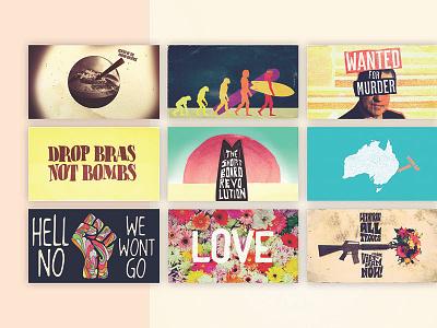 Poster Art for Red Bull series // The Ripple Effect lettering type typography vintage poster poster art minimal graphic design graphic branding design logo